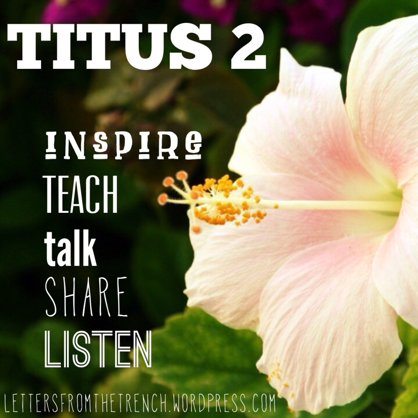 Inspire, teach, talk, share, listen